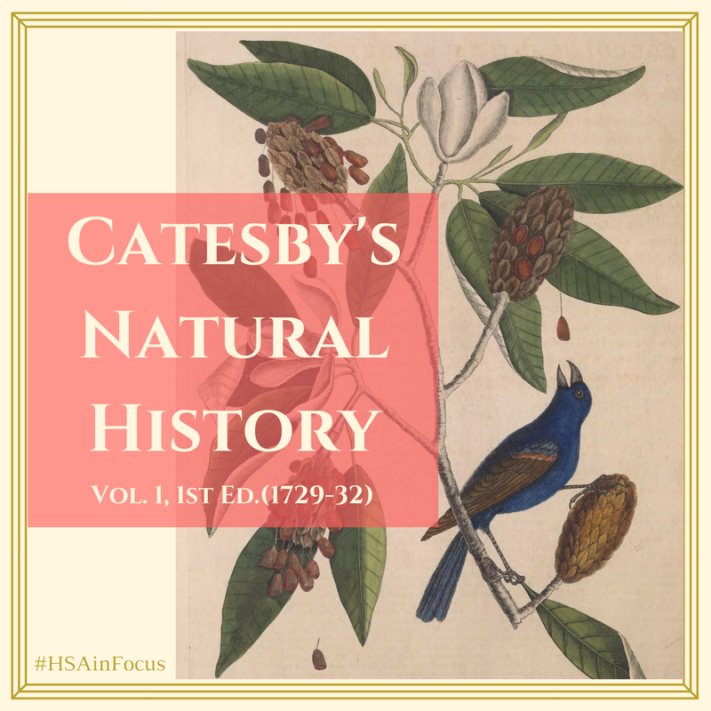 Catesby's Natural History1st Ed., Vol. 1 (1731)